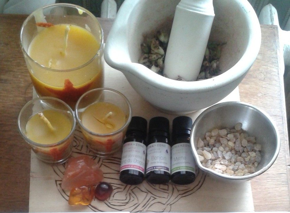 Faire sa bougie de protection purification alliance magique blog - Purification maison ...