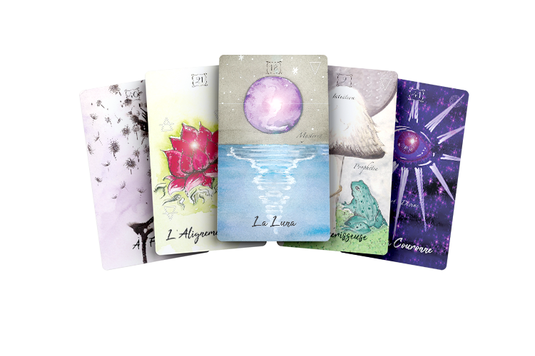 cartes-lumiair-oracle-lumi'air-lumi-air-antoinette charbonnel-oracle-divination-voyance-tarot-alliance magique-arcana sacra